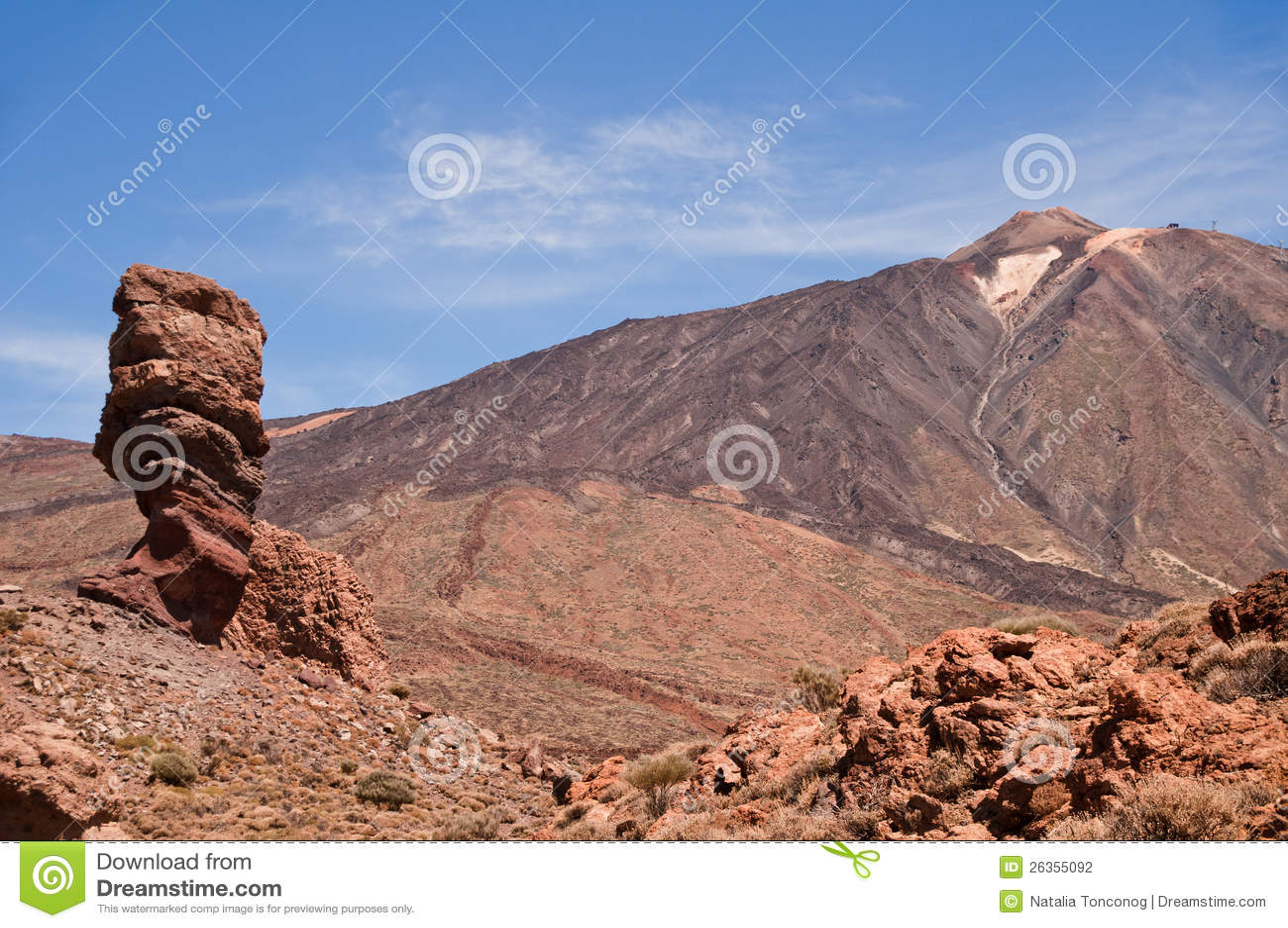 Vulkan Teide.