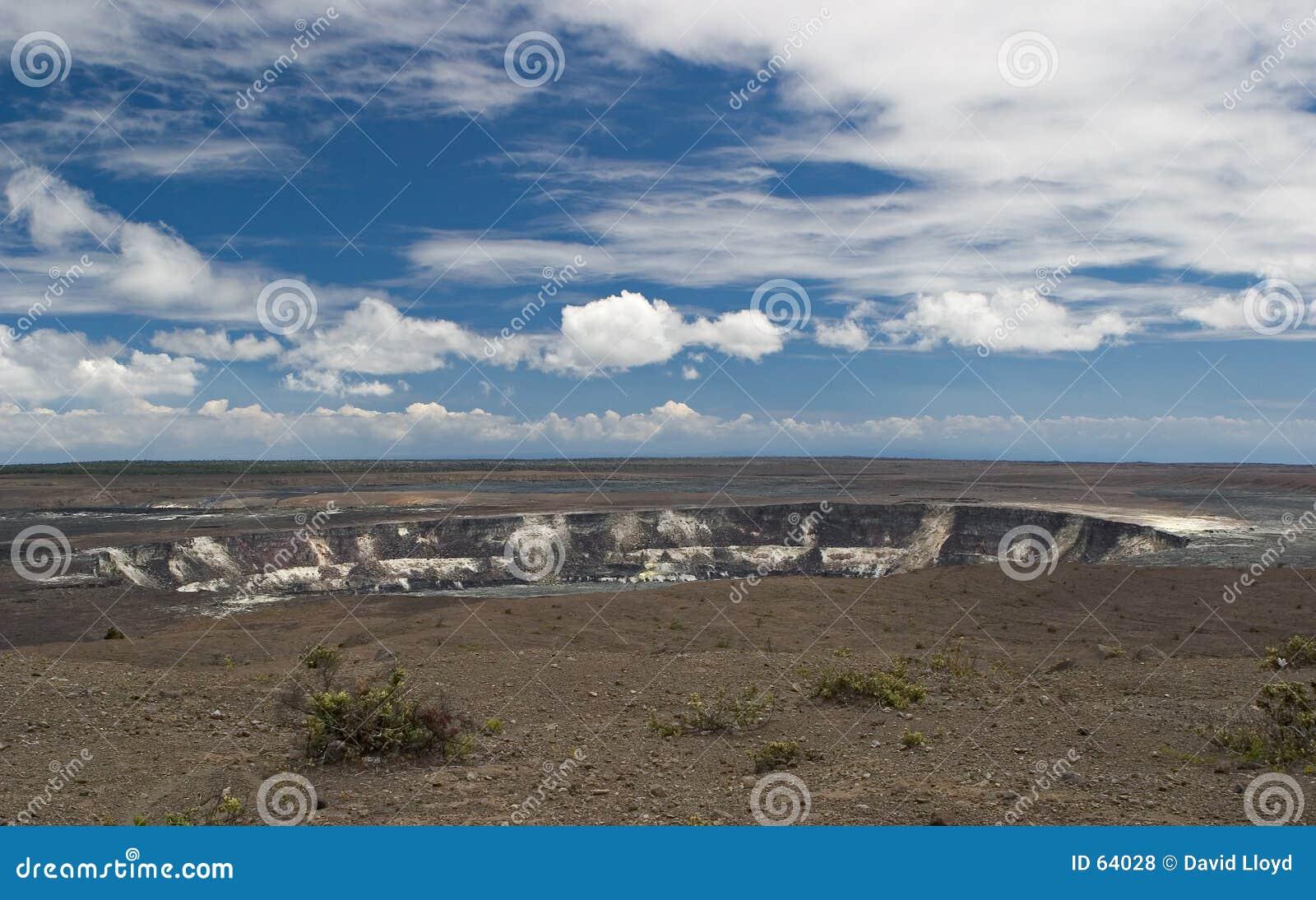Vulkanisk krater