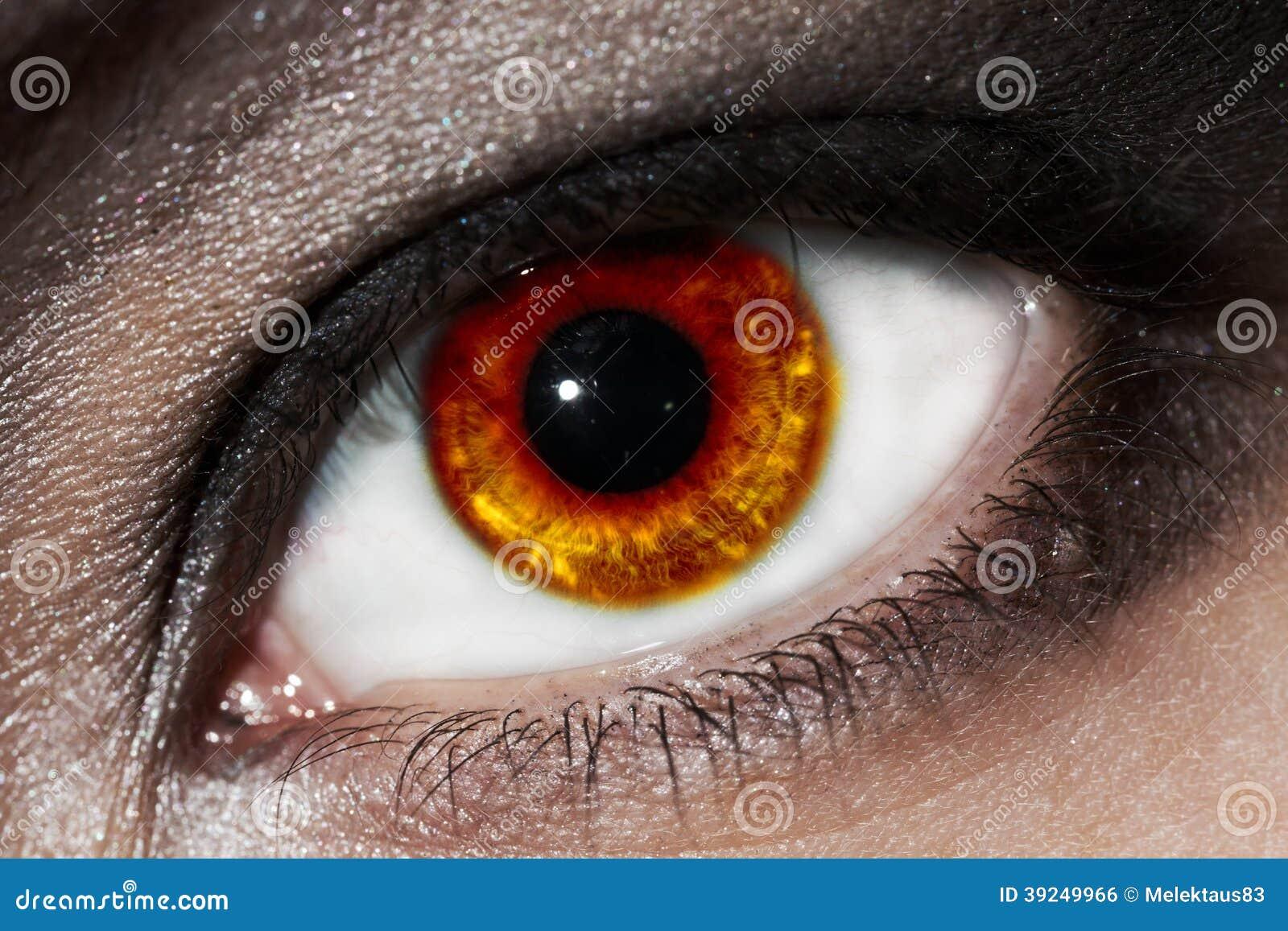 Vurig oog