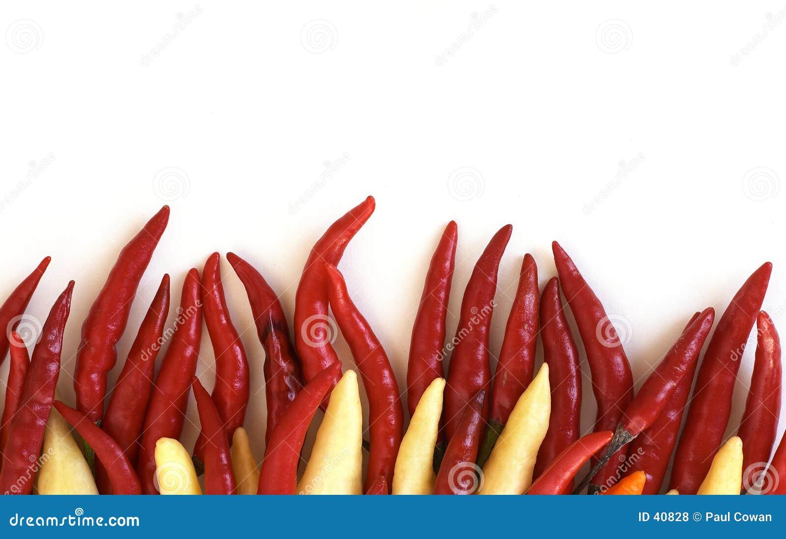 Vurige Spaanse pepers