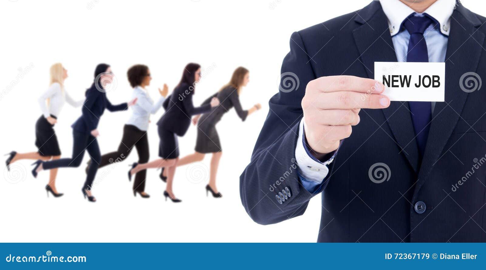 Vusiness和事业概念- hr专家和连续事务