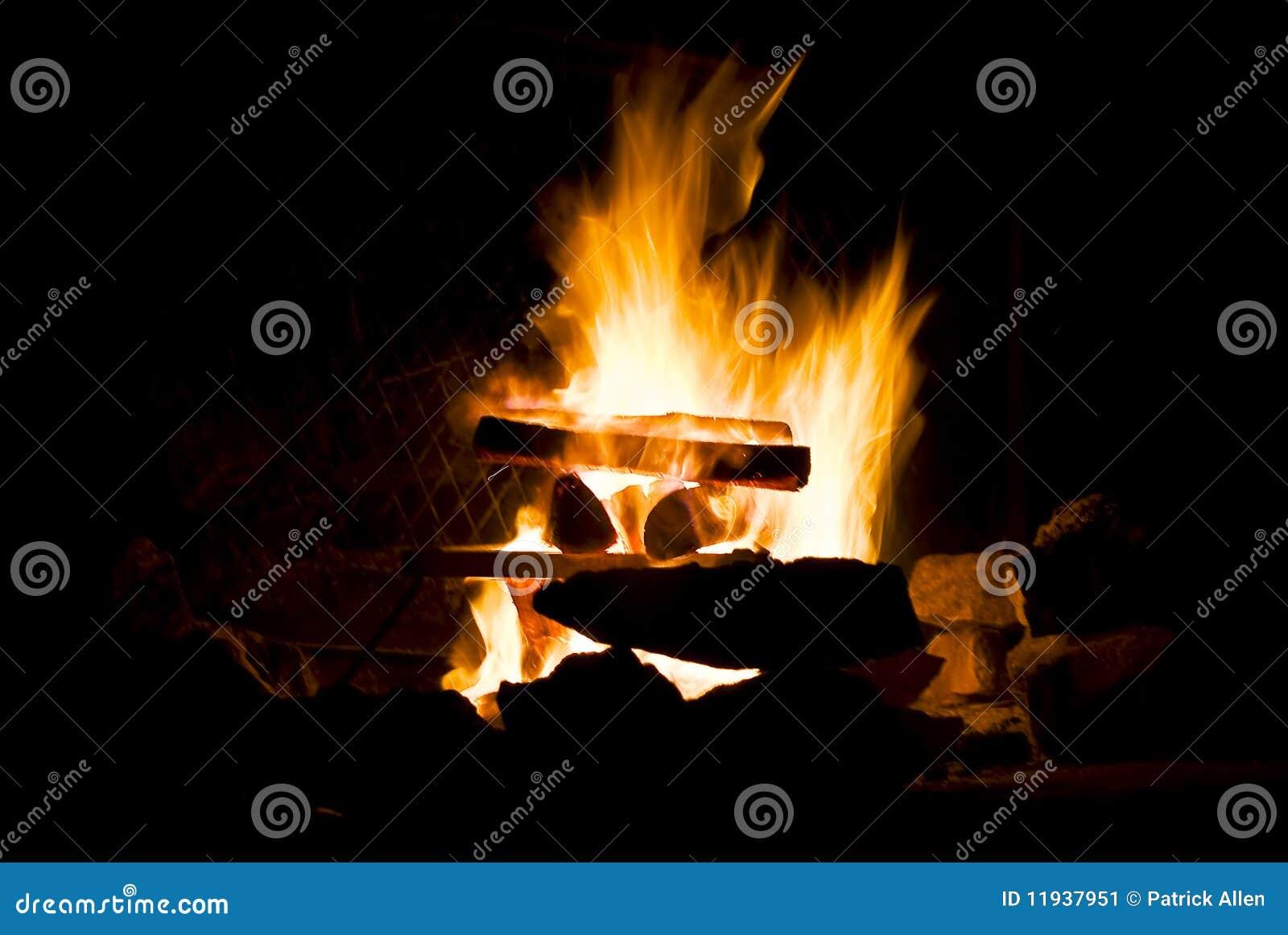 In vuur en vlam kampvuur