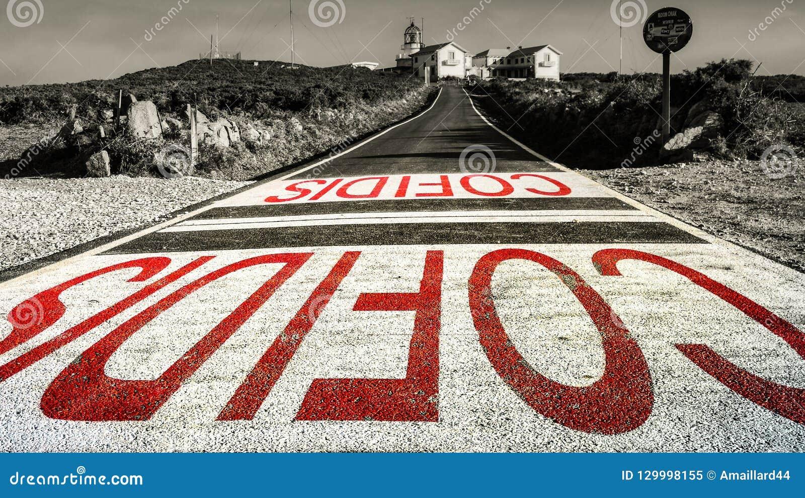 Vuurtoren Gr Faro Coruna, Spanje
