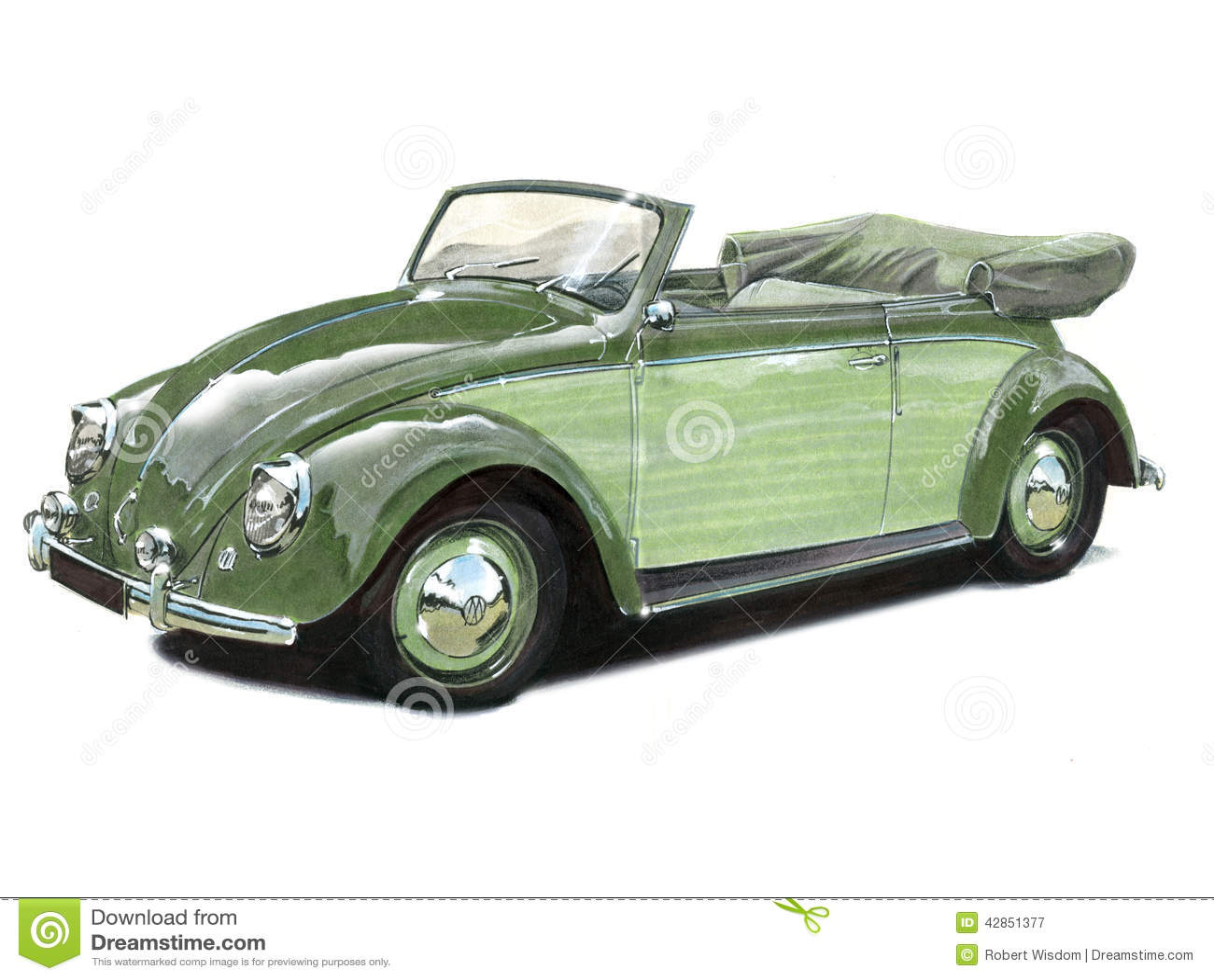 VW ścigi kabriolet