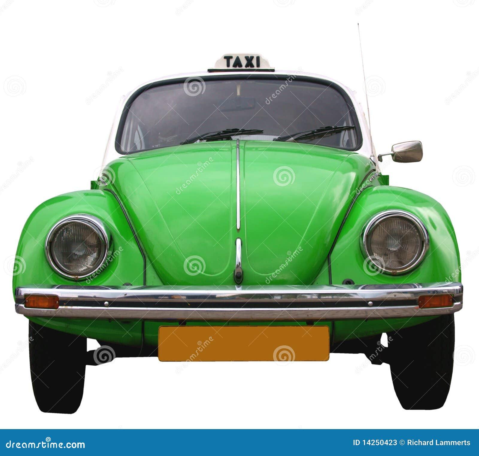 VW ταξί frontside κανθάρων