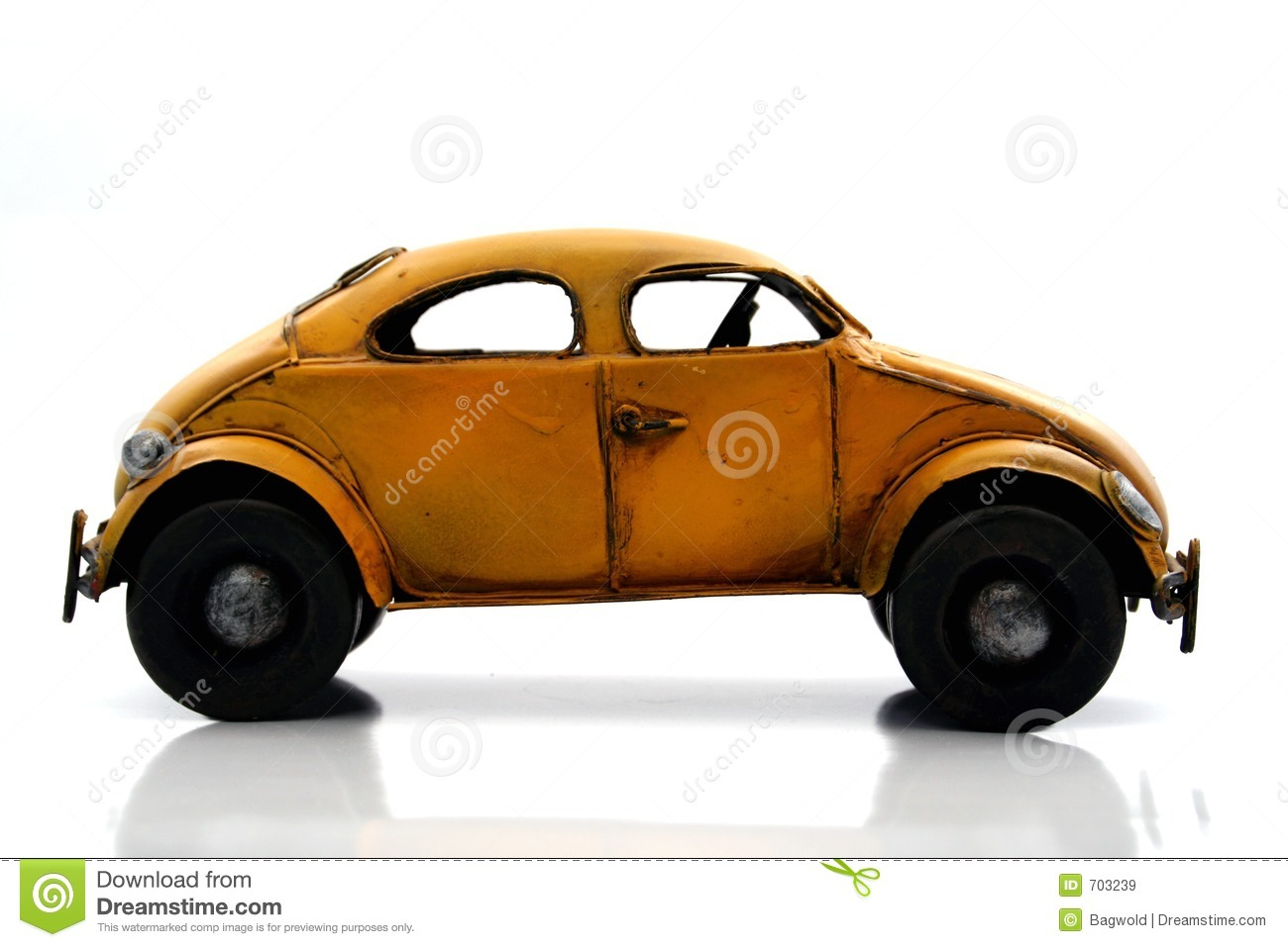 VW Bug Toy Royalty Free Stock Images - Image: 703239