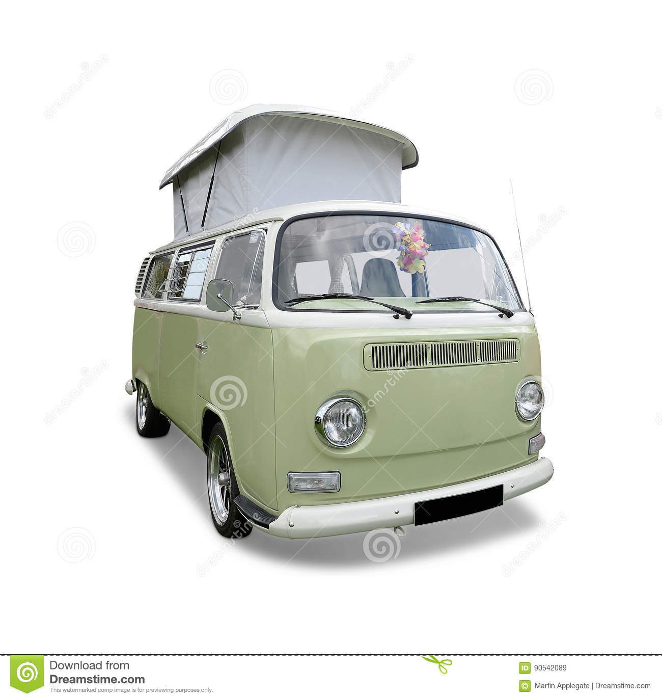 VW Camper Van Stock Image Of Window Auto