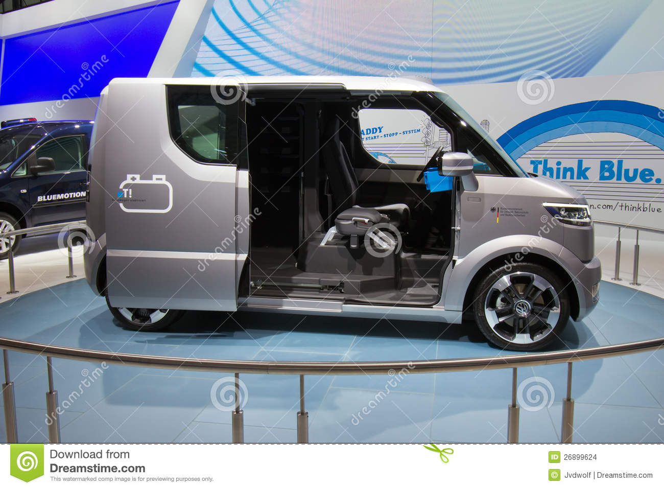 VW ET! Electric Transporter Editorial Stock Image - Image ...