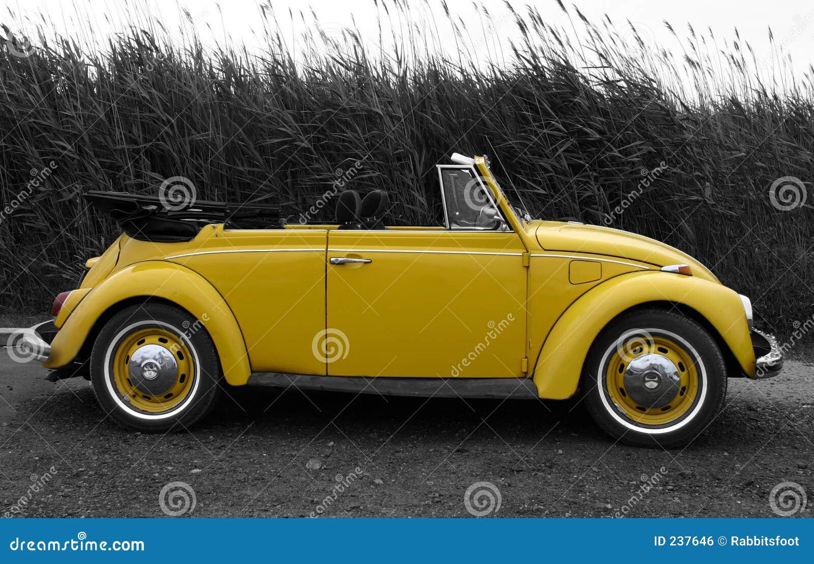VW jaune