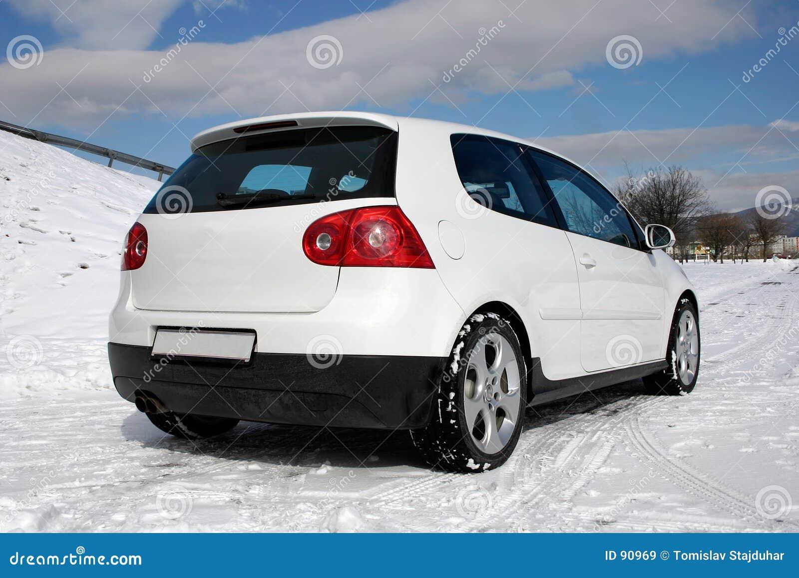 VW jouent au golf l arrière de gti