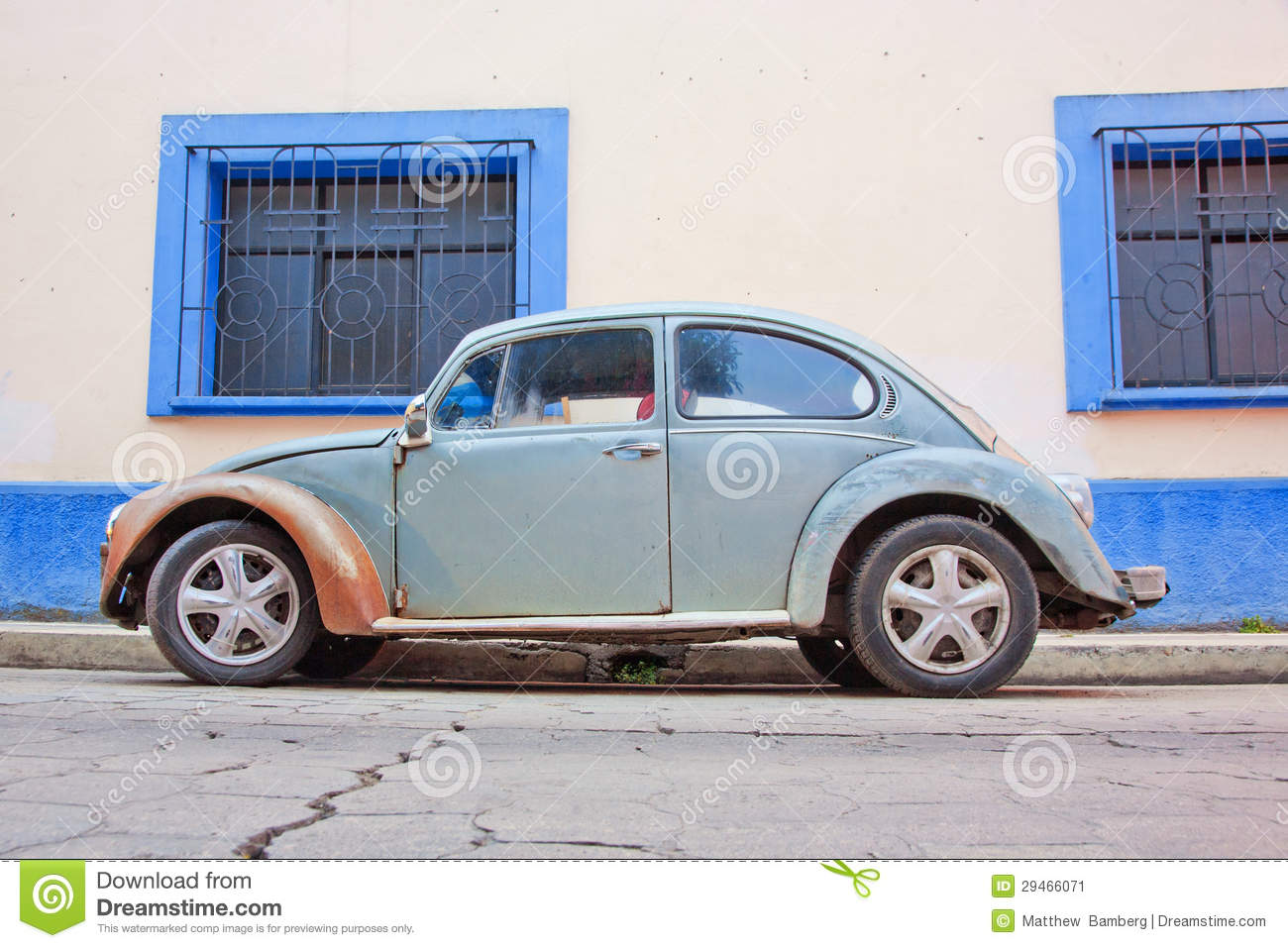 vw in mexico stock image image 29466071. Black Bedroom Furniture Sets. Home Design Ideas