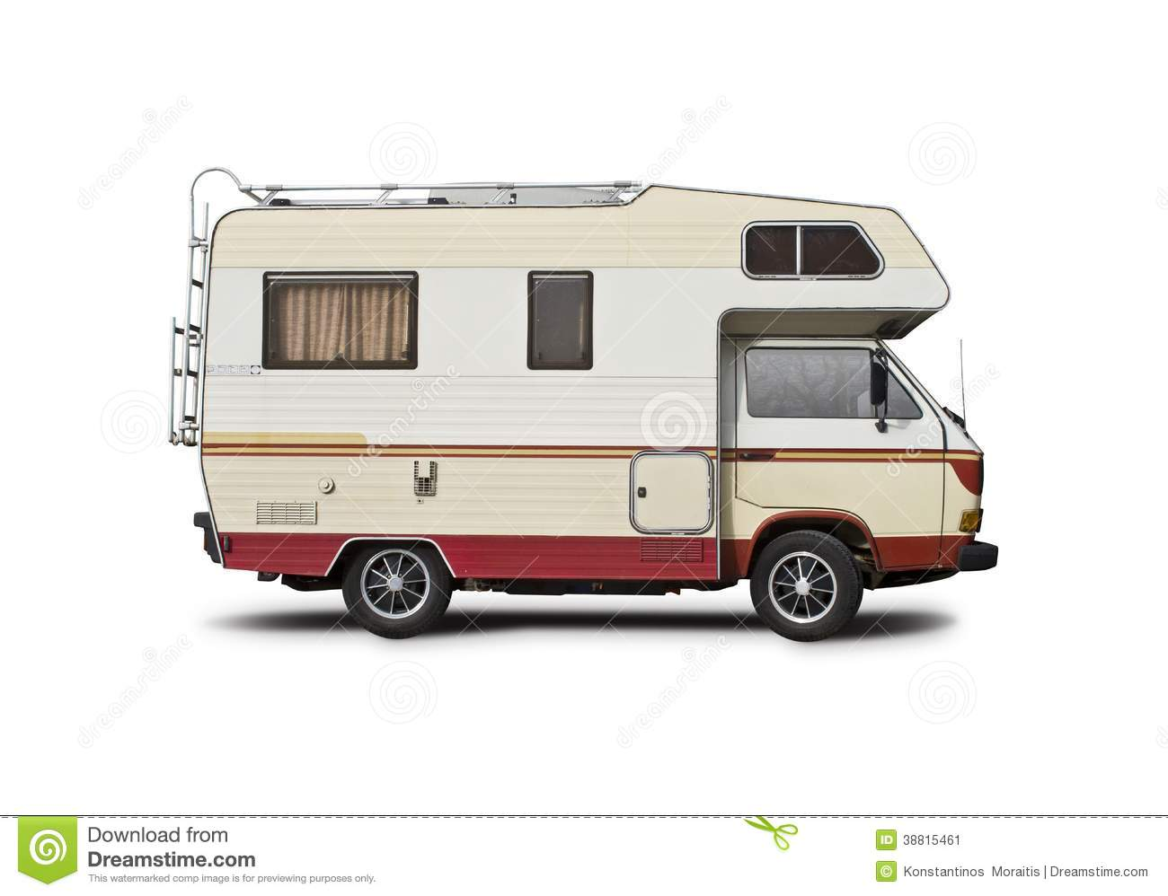 Vw Motorhome Stock Photo Image 38815461