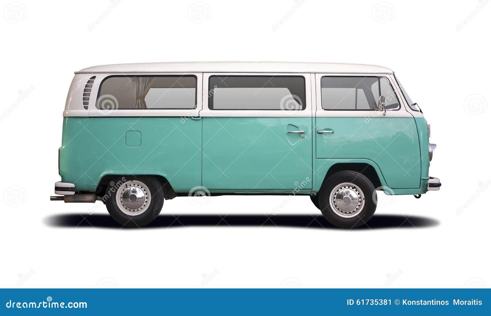 Vw Hippie Van >> VW T2 Camper Stock Photo - Image: 61735381
