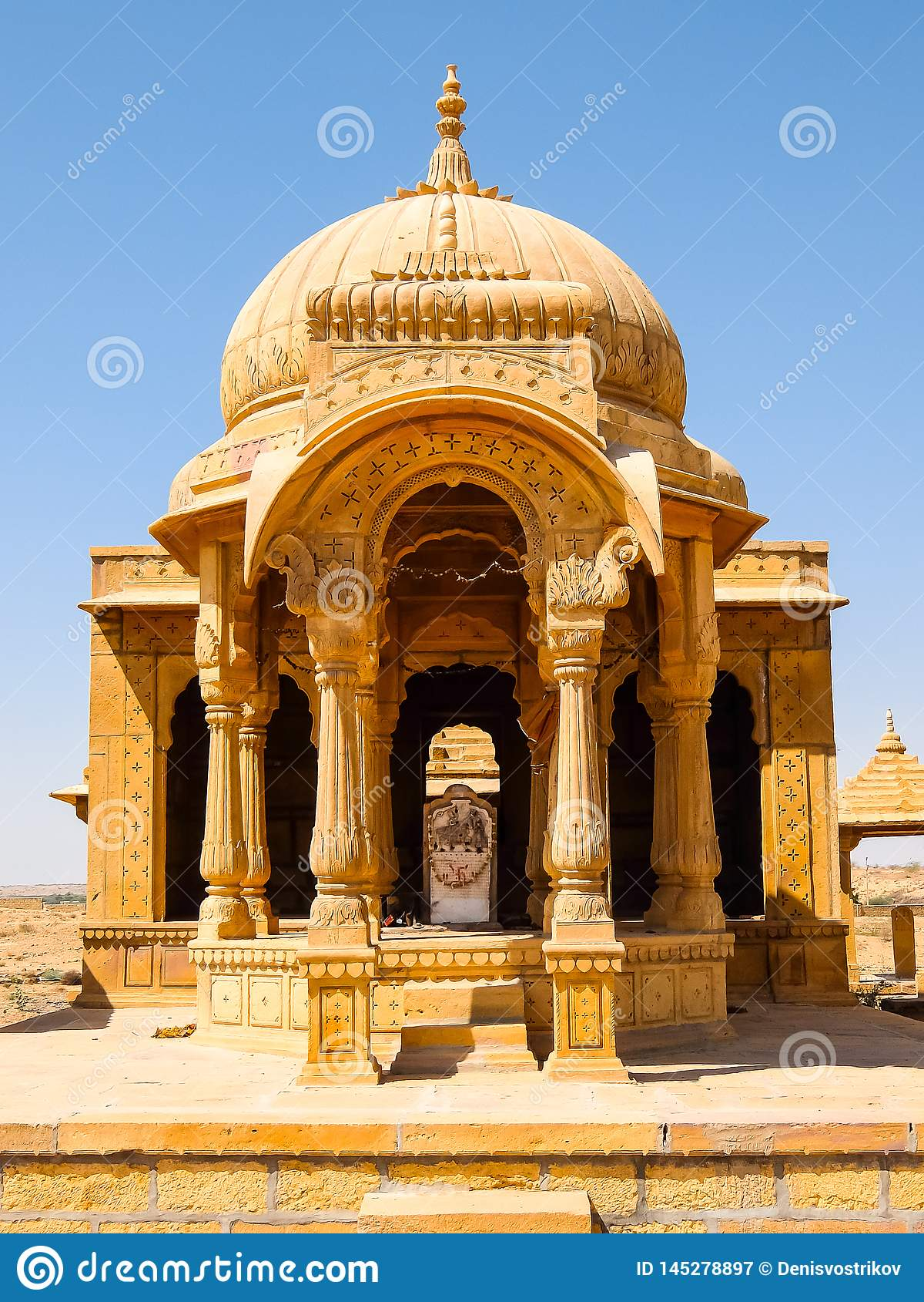 Vyas查特里建筑学贾沙梅尔堡垒的