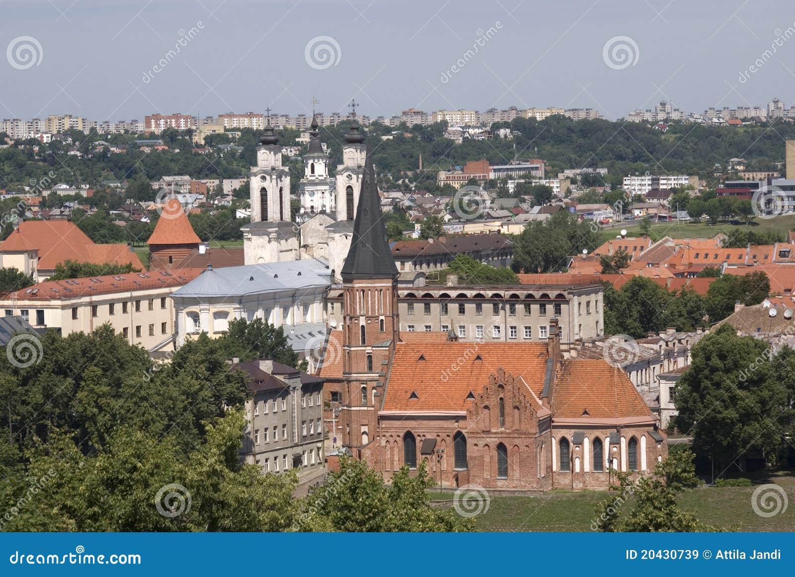 Download Vytautas Church, Kaunas, Lithuania Stock Image - Image of attraction, baltic: 20430739