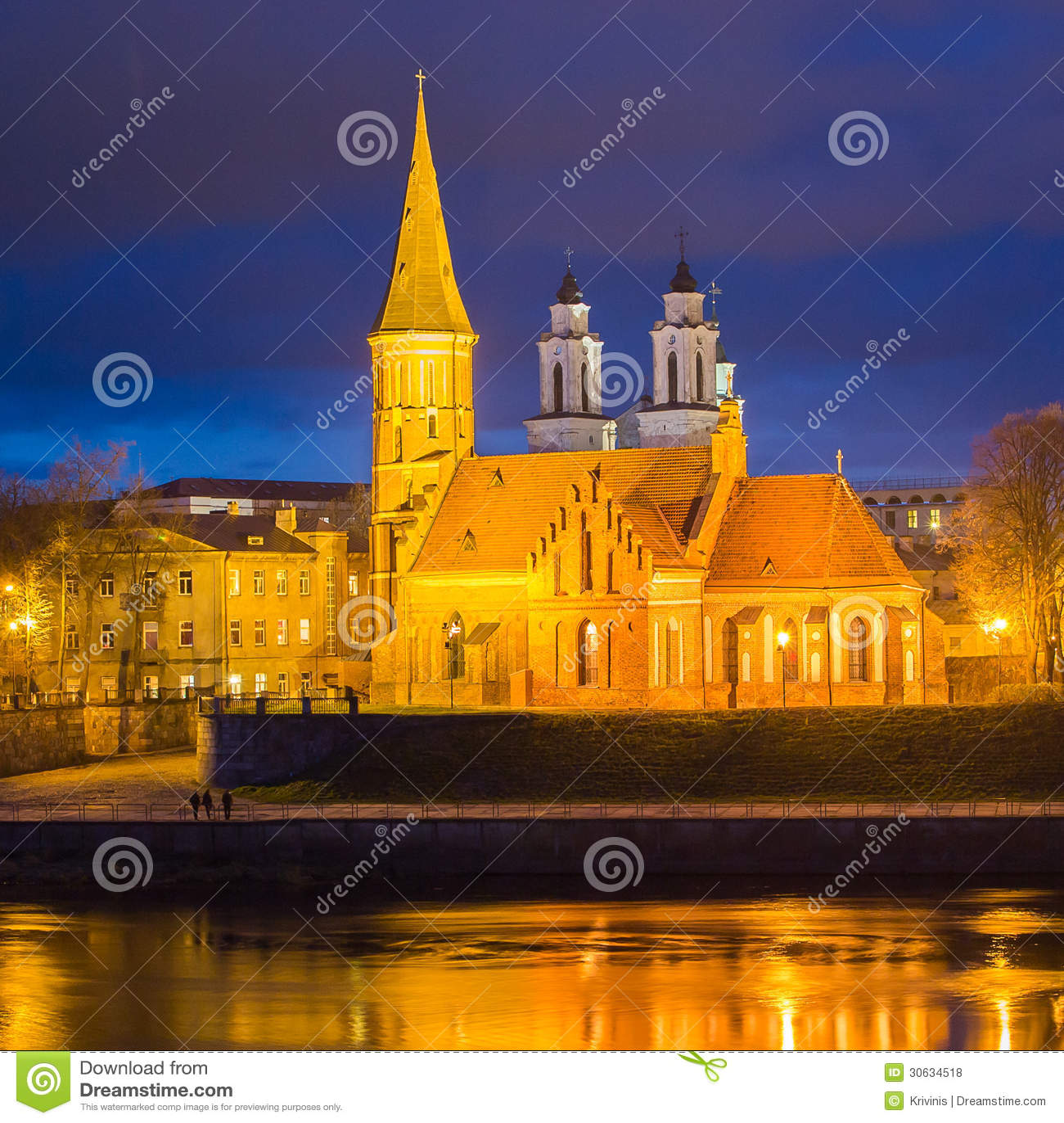 Vytautas die große Kirche in Kaunas, Litauen
