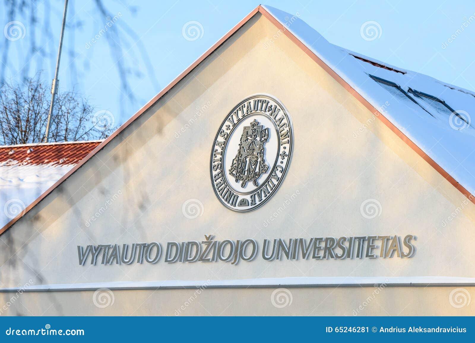 Vytautas Magnus University, Kaunas, Lituania