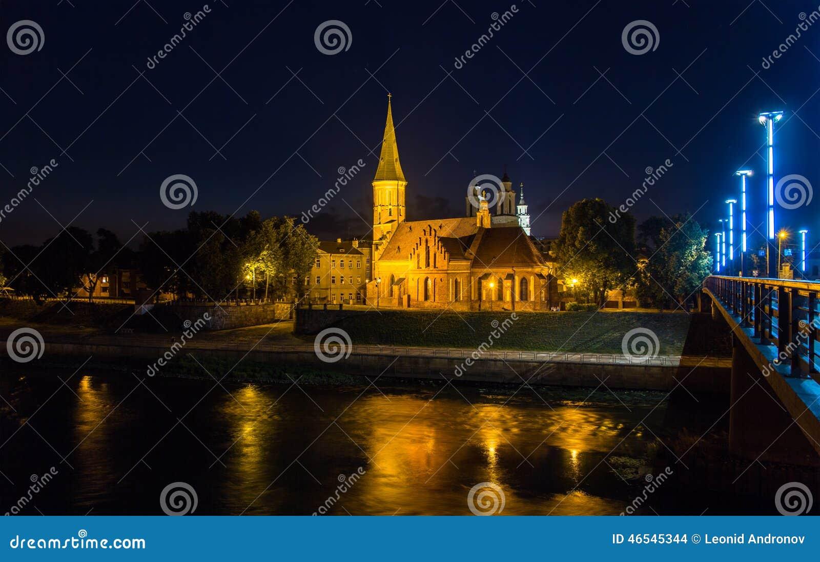 Vytautas Wielki kościół w Kaunas