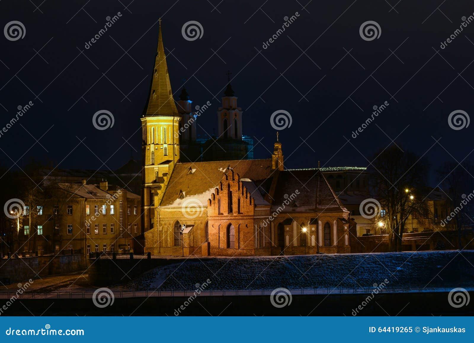 Vytautas Wielki kościelny Kaunas Lithuania