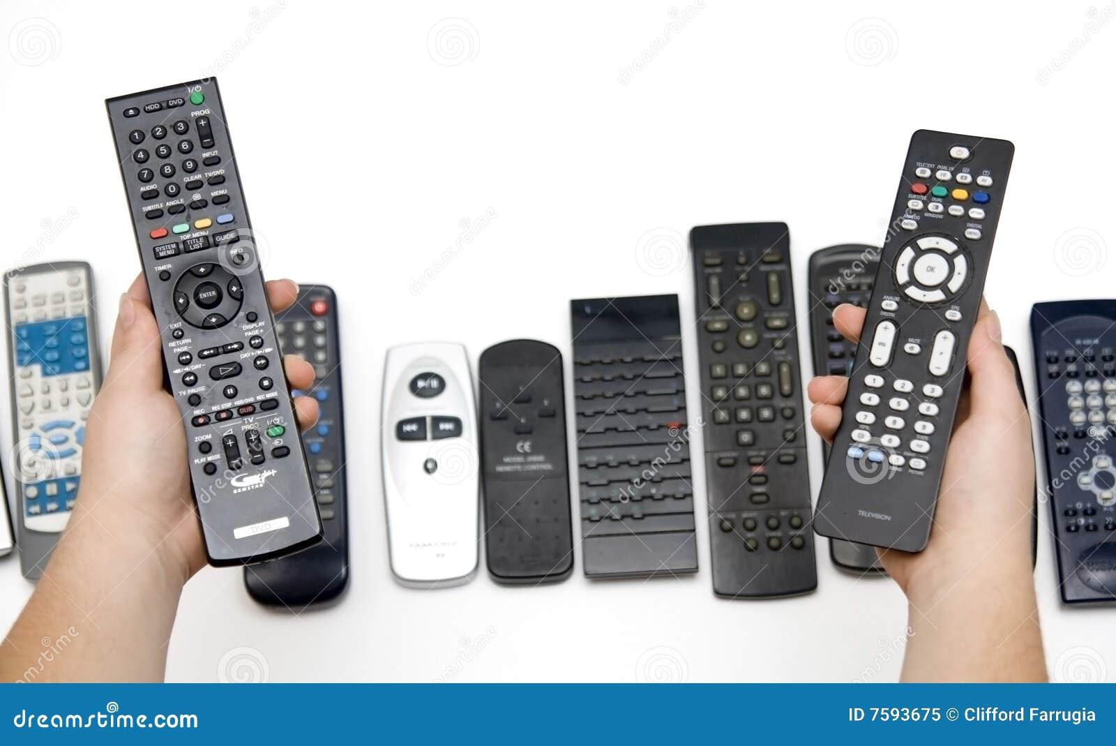 Wählen Sie das korrekte Fernsteuerungs aus