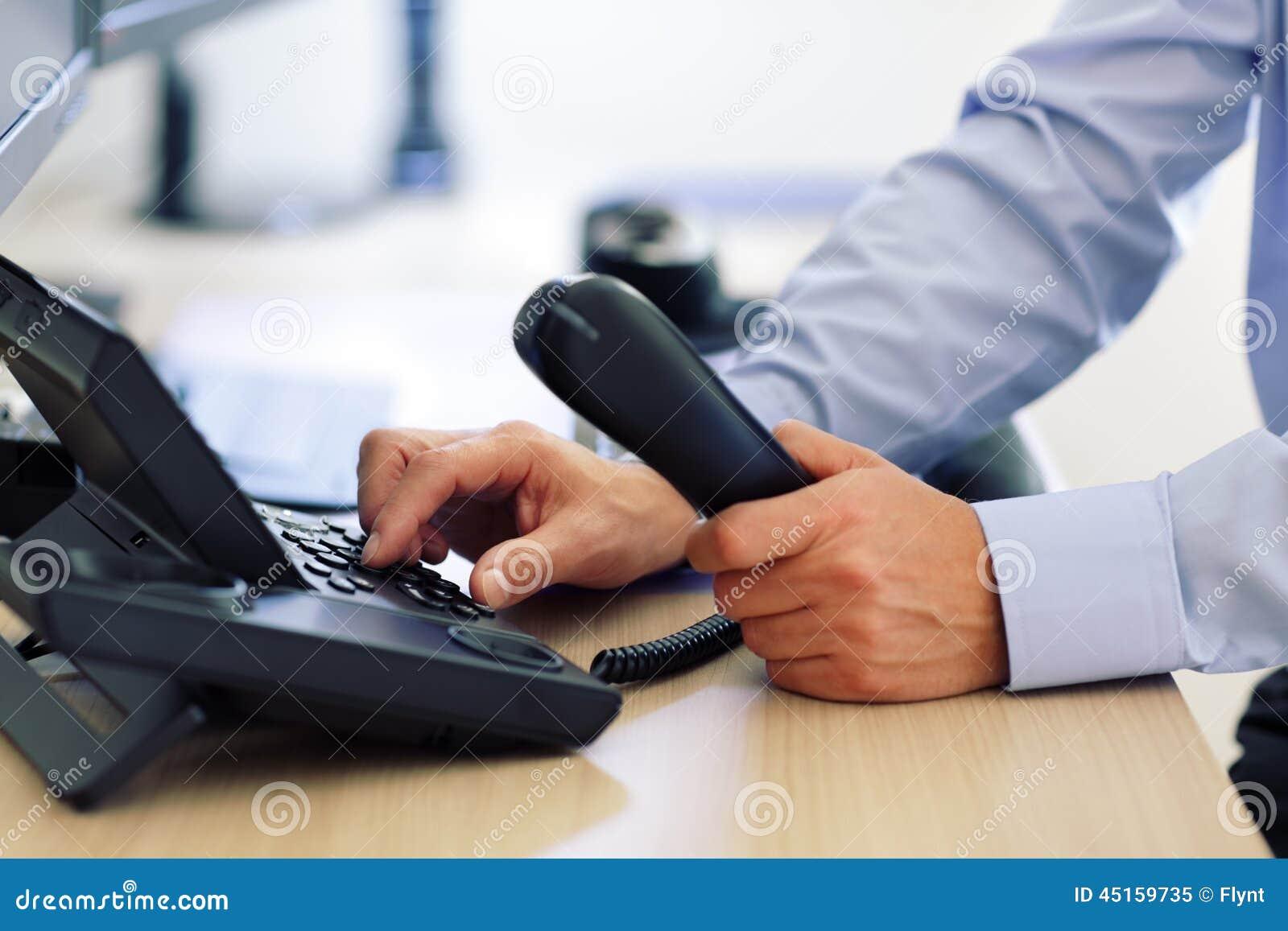 Wählende Telefontastatur