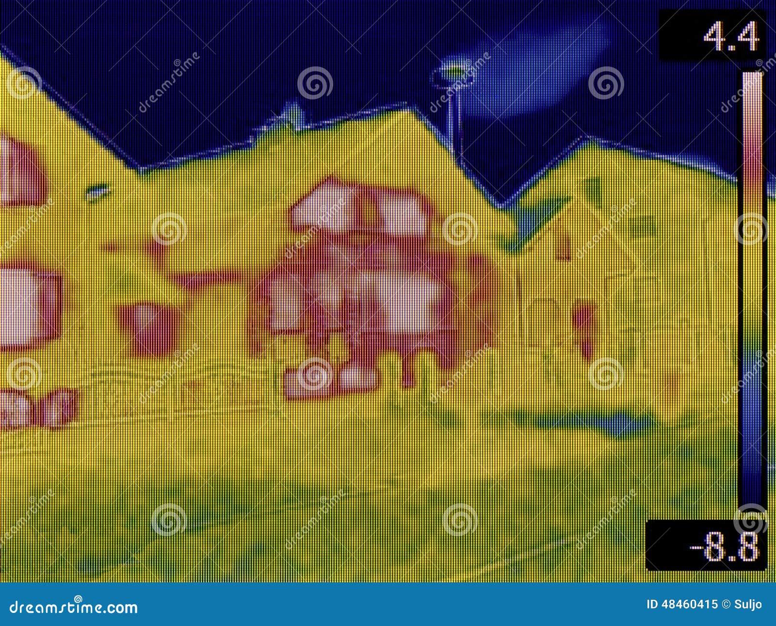 wärmeverlust-entdeckung stockbild. bild von untersuchung - 48460415