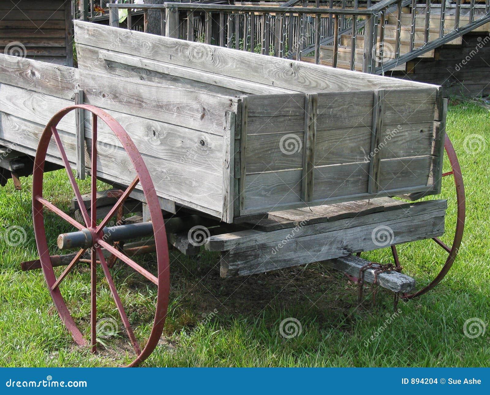 Wóz drewna
