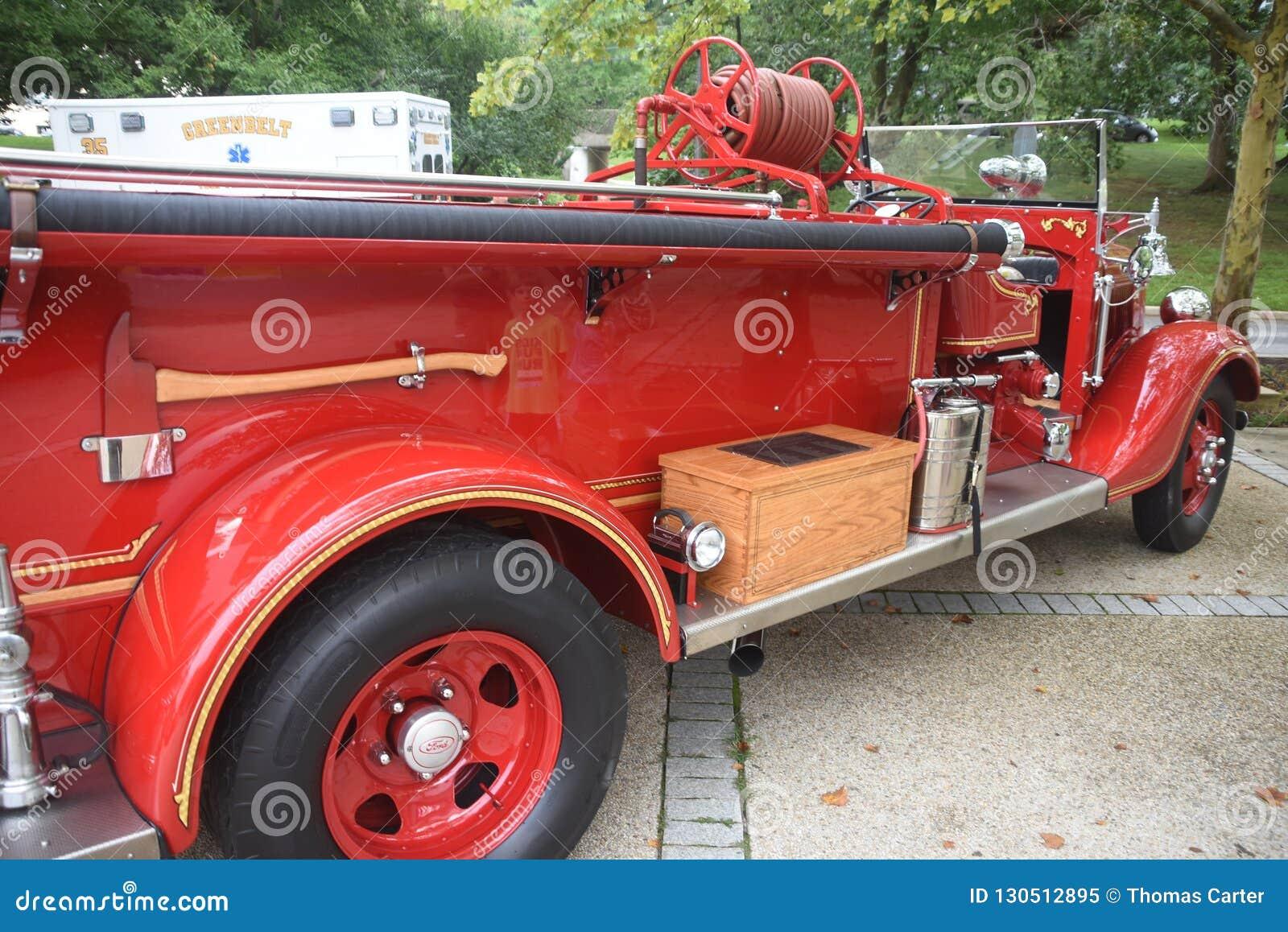 Wóz strażacki antyczne