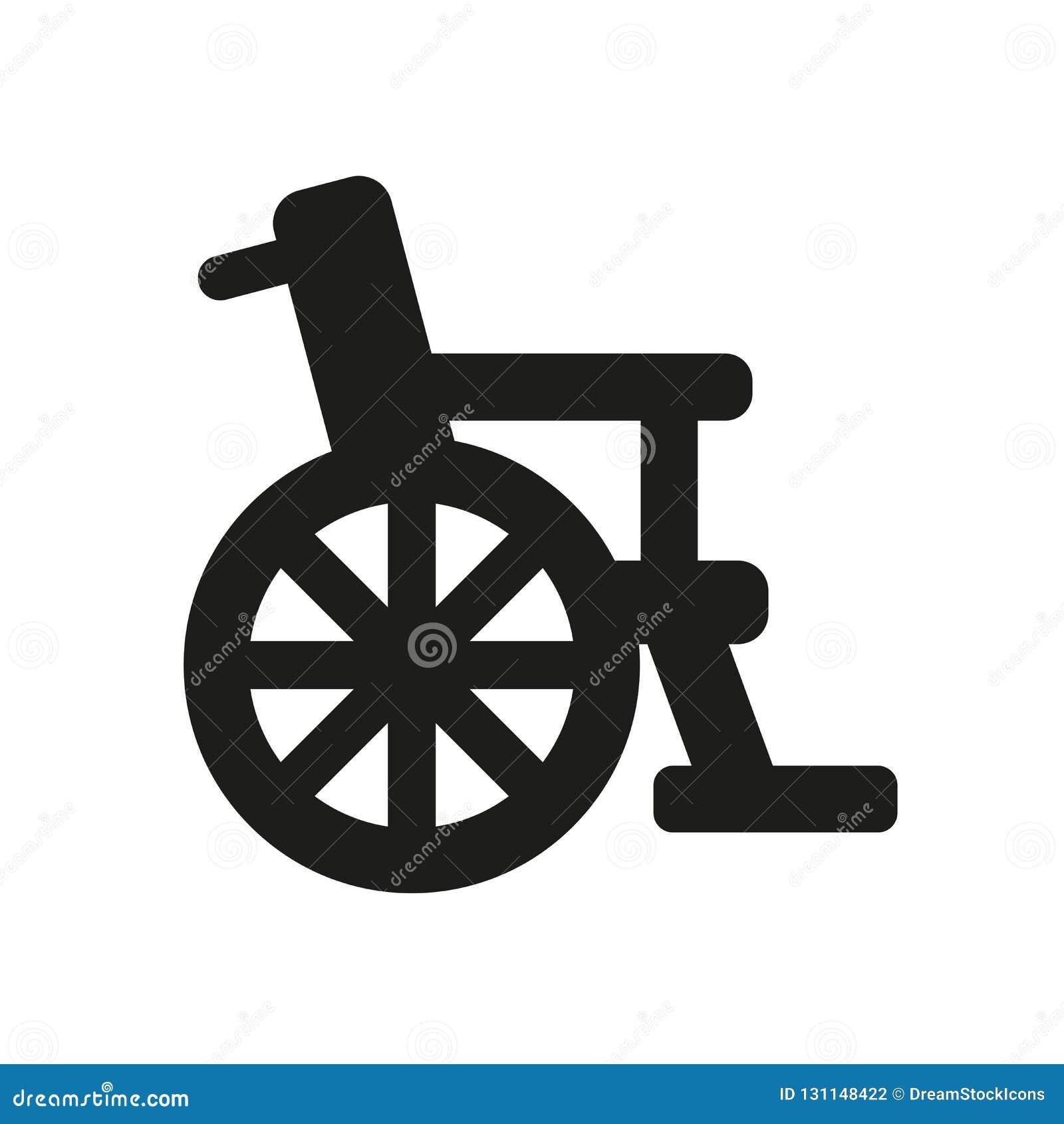 Wózek inwalidzki ikona