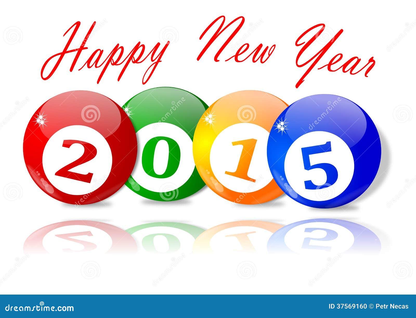 Wünsche Für Das Neue Jahr 2015 Stock Abbildung - Illustration von ...
