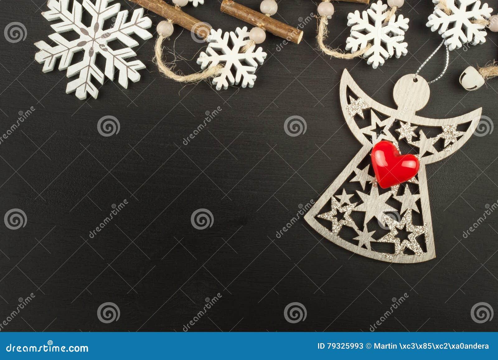 Wünsche Für Weihnachten Und Engel Dekorationen Für Die Geschenke ...