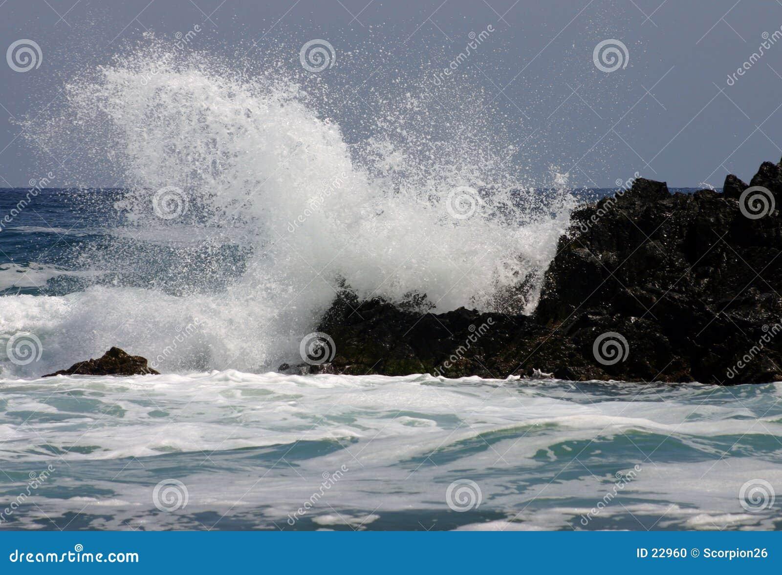 Wütendes Meer