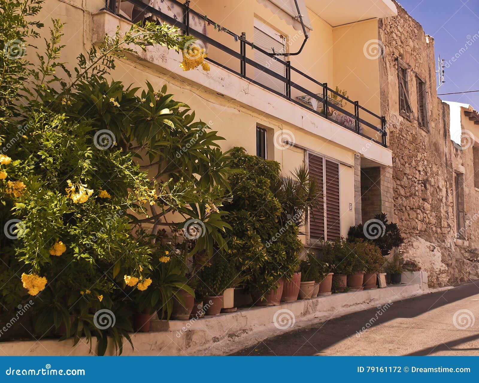 Wąska Grecka ulica