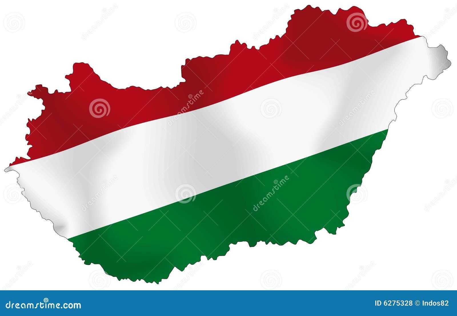 Węgry flaga