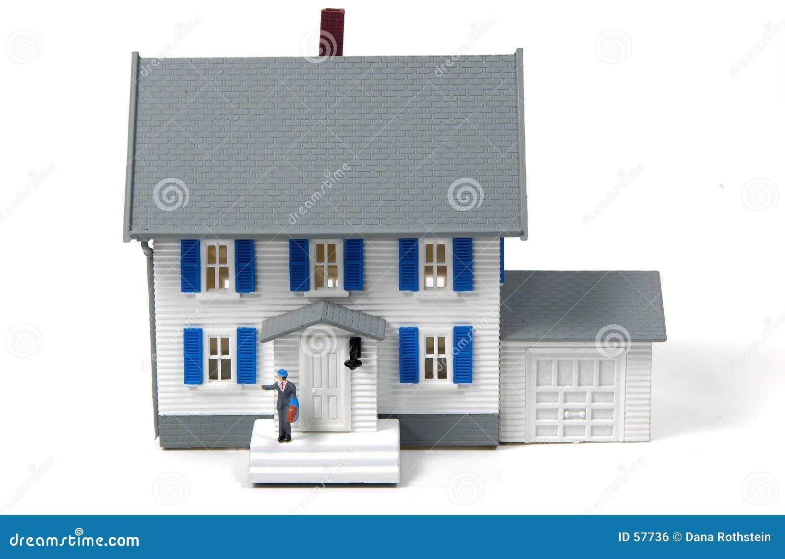 Właściciel domu.