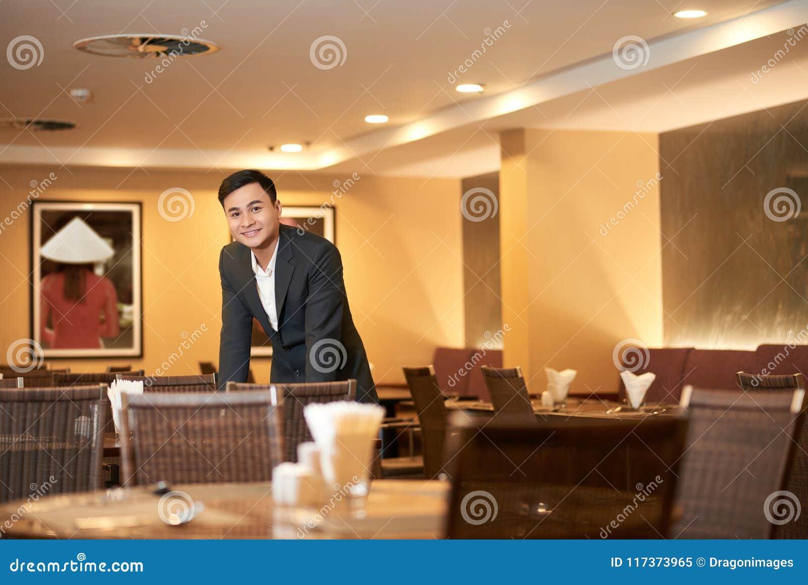 Właściciel restauracji
