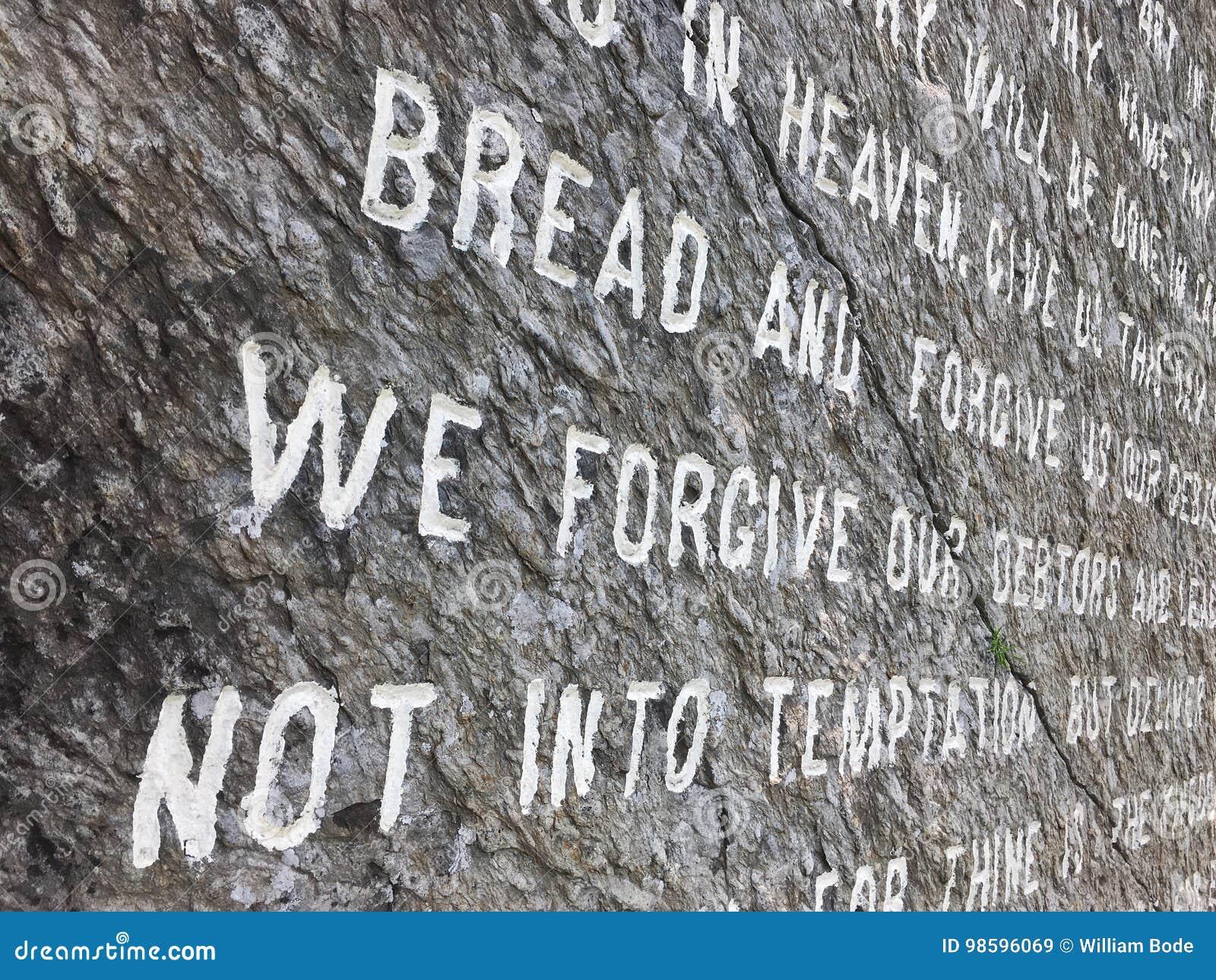 Władyki modlitwa Rzeźbiąca w kamieniu