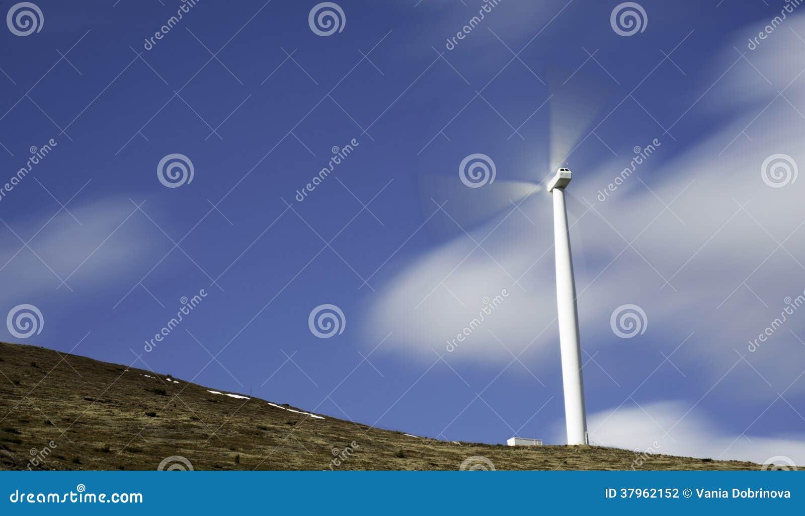 Władza Wywołujący wiatraczek