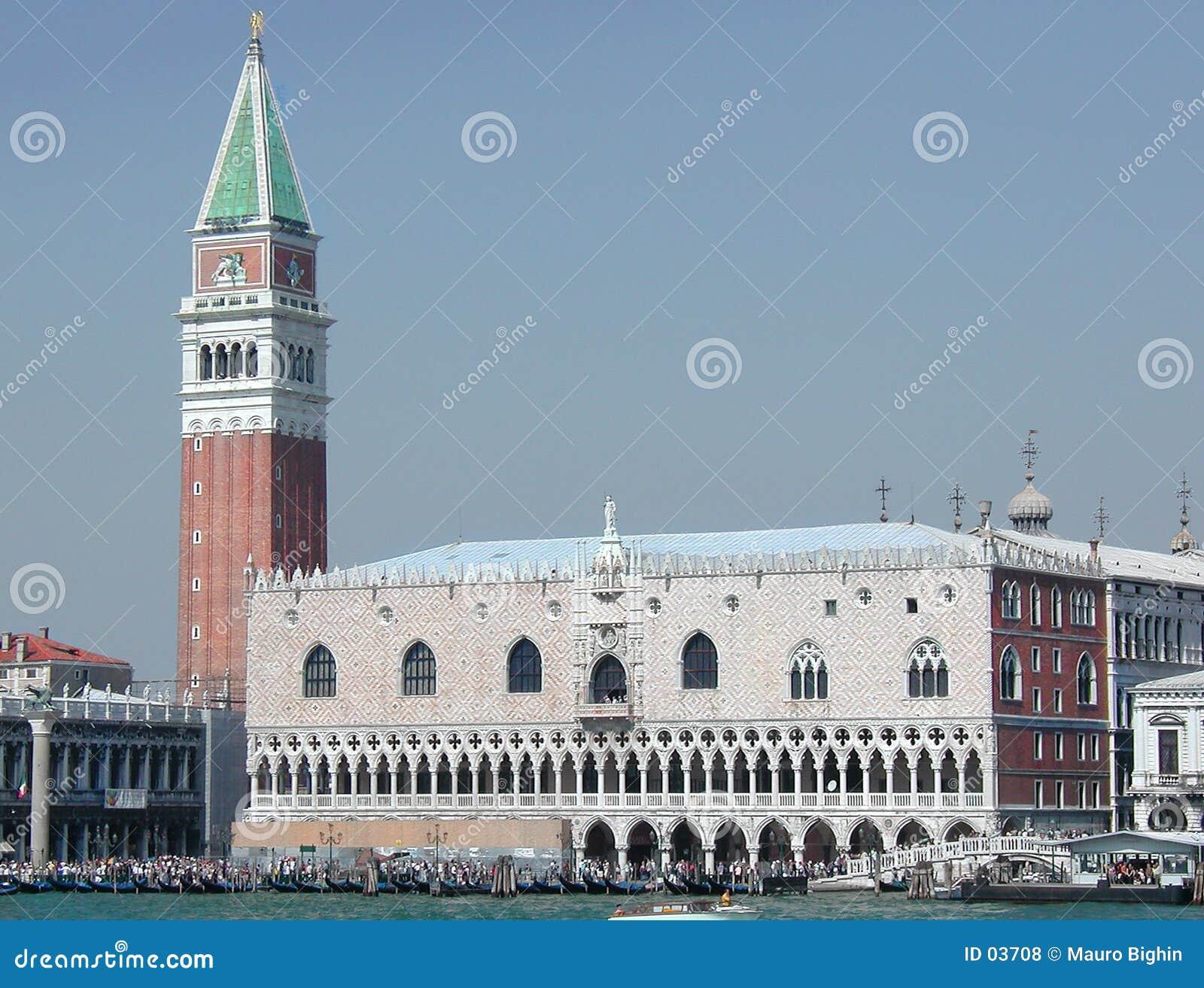 Włoch doży pałacu Wenecji
