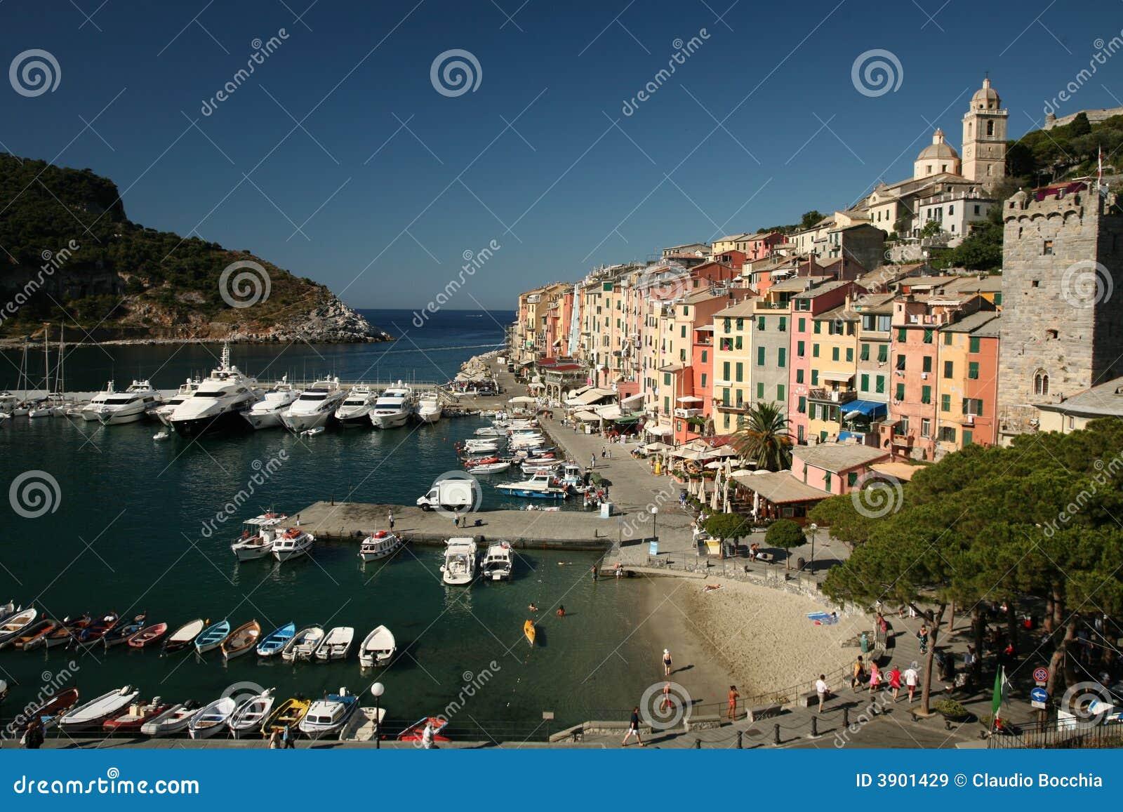 Włoch portovenere portu