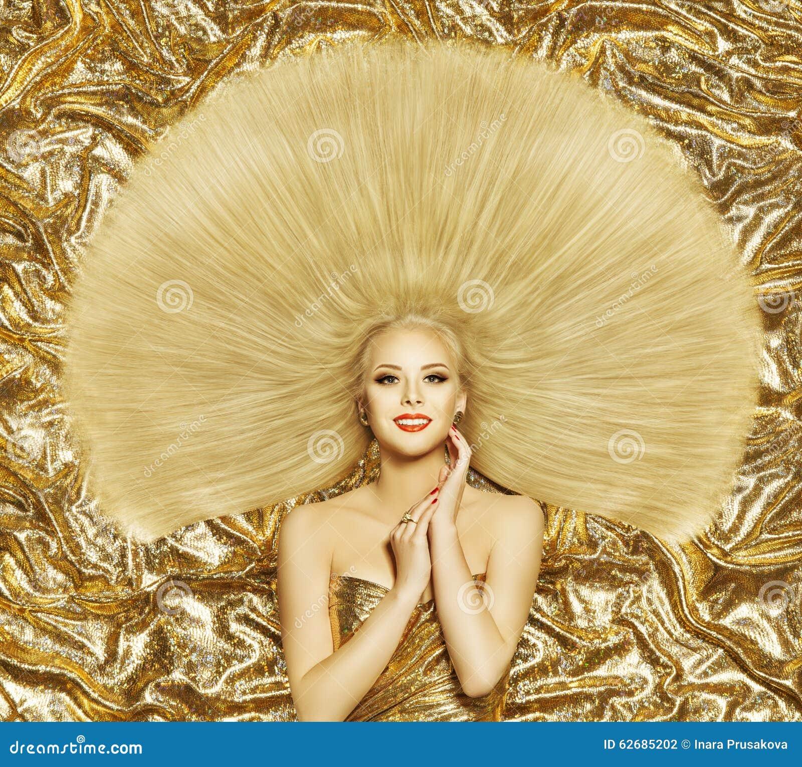 Włosianego stylu mody model, kobiety fryzury Długi Prosty włosy