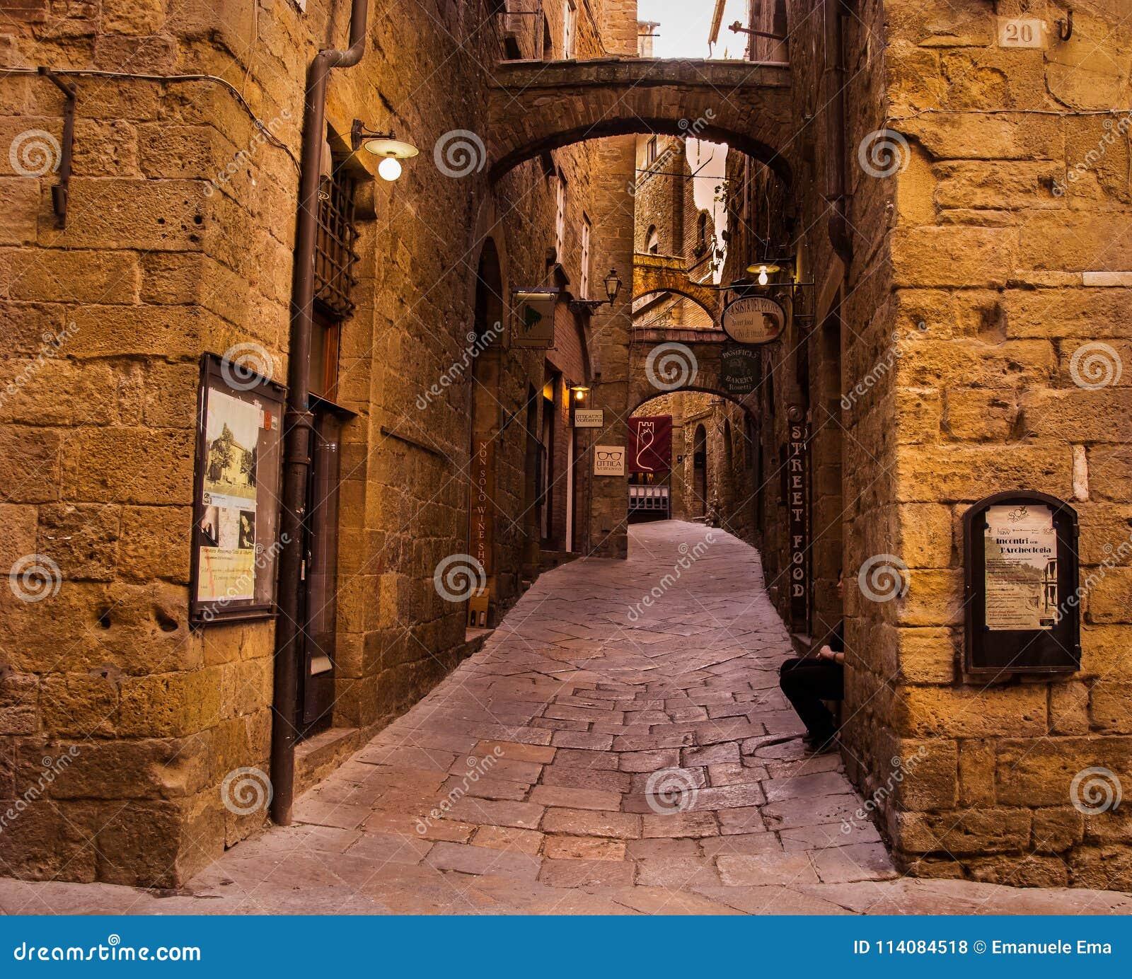 Włoska wioska volterra
