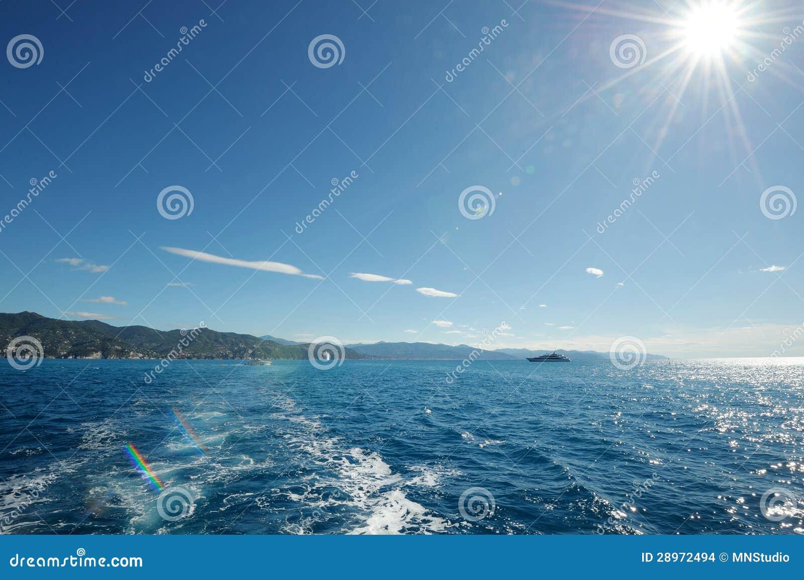 Włoski seascape