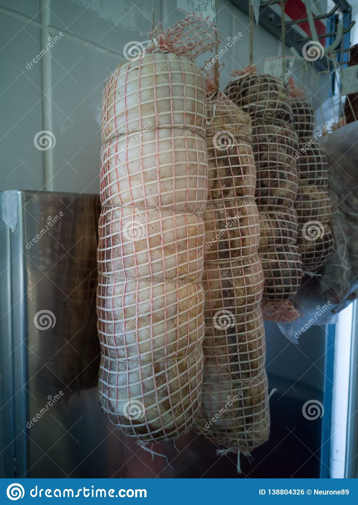 Włoskie salami
