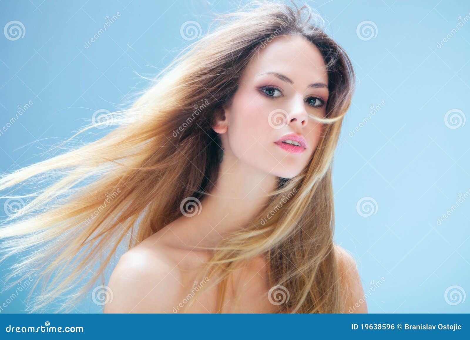 Włosy model