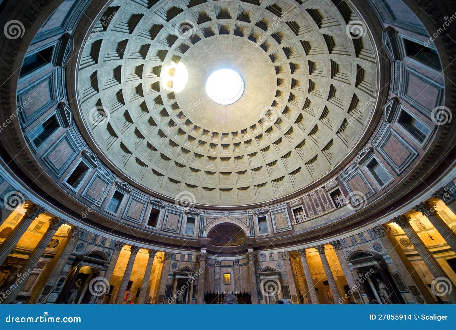 Wśrodku Panteonu, Rzym