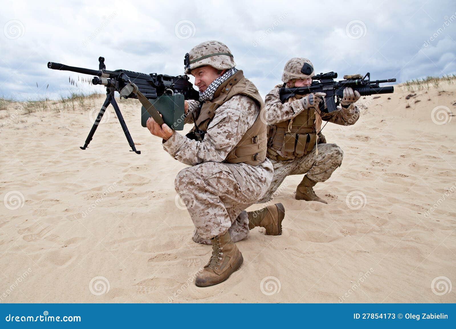 W akci USA żołnierz piechoty morskiej