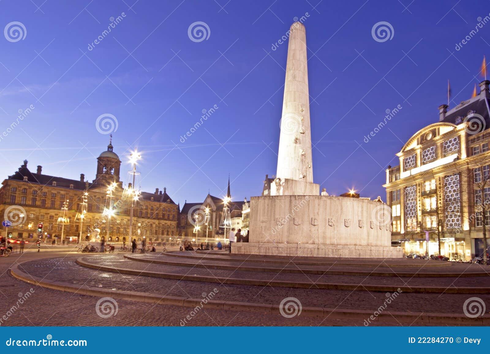 W Amsterdam grobelny Kwadrat Nethe
