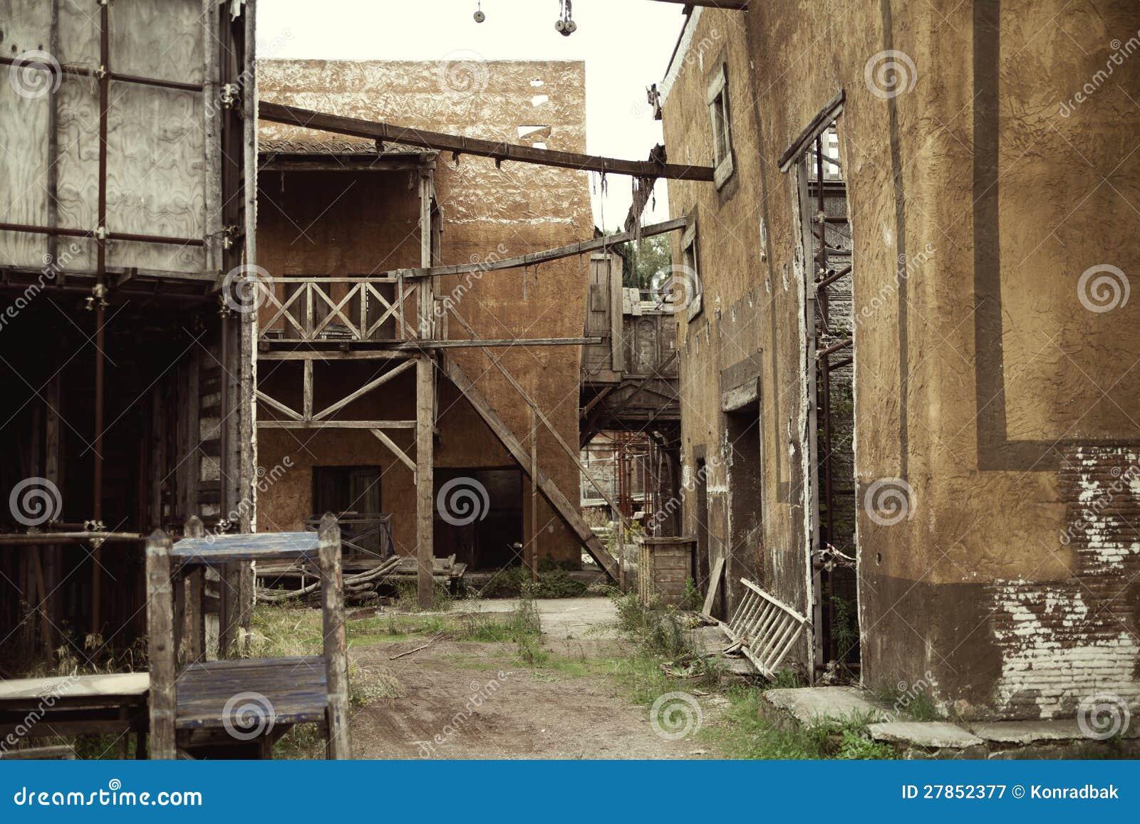 W antyczny Rzym zaniechani domy