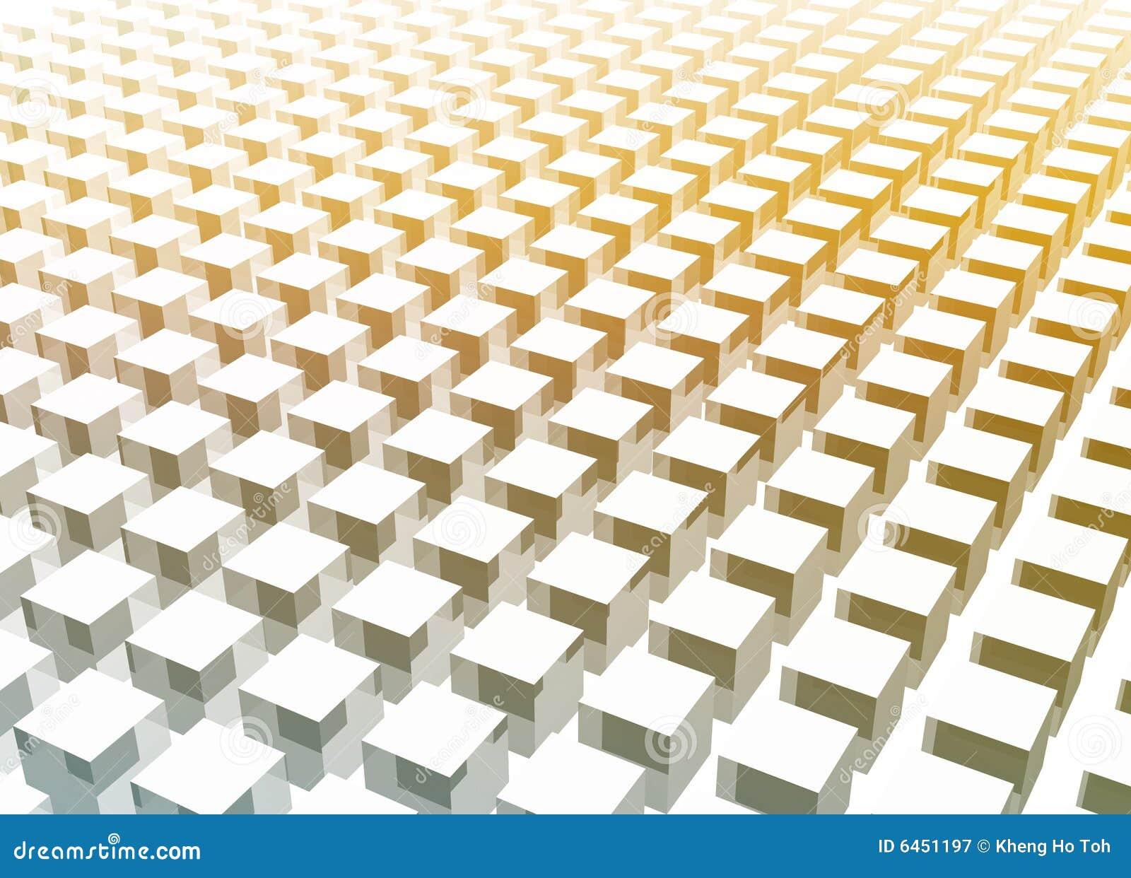 W bloku 3 d abstrakcjonistycznego czysty proste